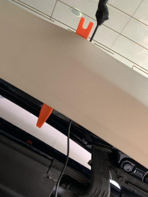 自分で取付け!ベンツCLS(S218)シューティングブレークにユピテルのドライブレコーダー&駐車時記録用マルチバッテリー(DIY)
