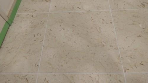 ツヤが無くなった玄関床の大理石を自分でピカピカに磨いてみた(DIY)